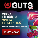 15 Free Spins Guts Casino