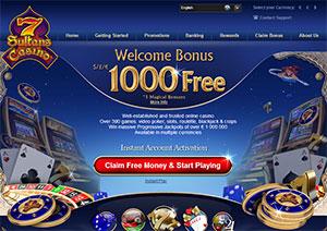 7sultans Casino Lobby