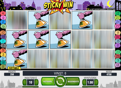 Jack Hammer Sticky Win