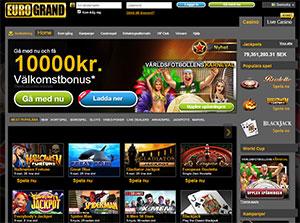 EuroGrand Casino Lobby 2014