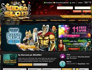 Videoslots Casino Lobby 2014