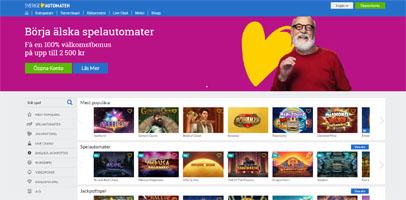 SverigeAutomaten Webbplats 2019