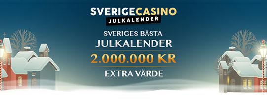 SverigeCasino - Julkalender