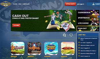 Sverigekronan Casino Lobby